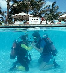 Dive lessons and instruction
